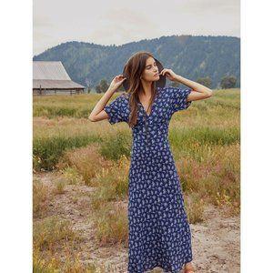 Christy Dawn Sequoia Maxi Dress Cottagecore EUC